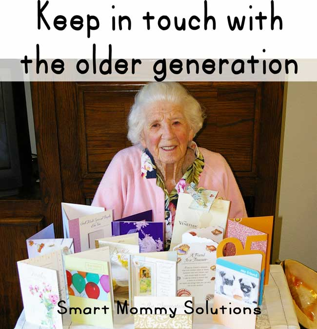 keep in touch with the older generation -- smart mommy solutions